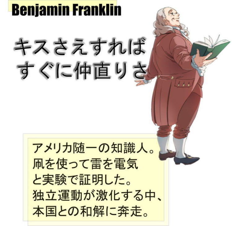 Founding Fathers Illustration Benjamin Franklin