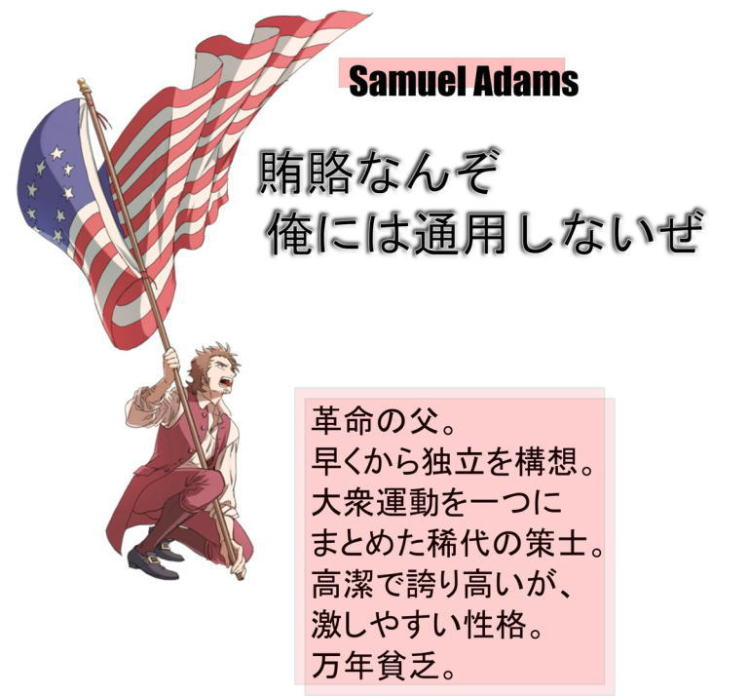 Founding Fathers Illustration Samuel Adams